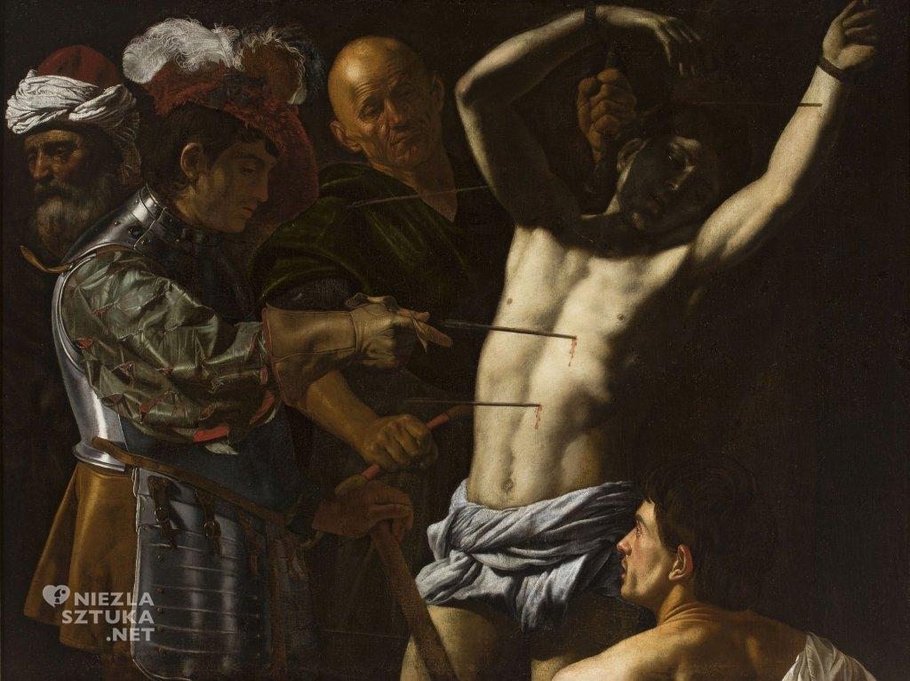 Cecco del Caravaggio, Święty Sebastian, sztuka religijna, Niezła Sztuka