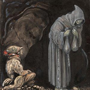 John Bauer, Oferta Nilas, trolle, ilustracja, sztuka skandynawska, Niezła Sztuka