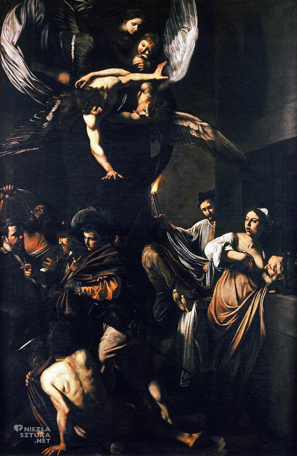 Caravaggio, Siedem uczynków miłosierdzia, malarstwo religijne, Niezła Sztuka