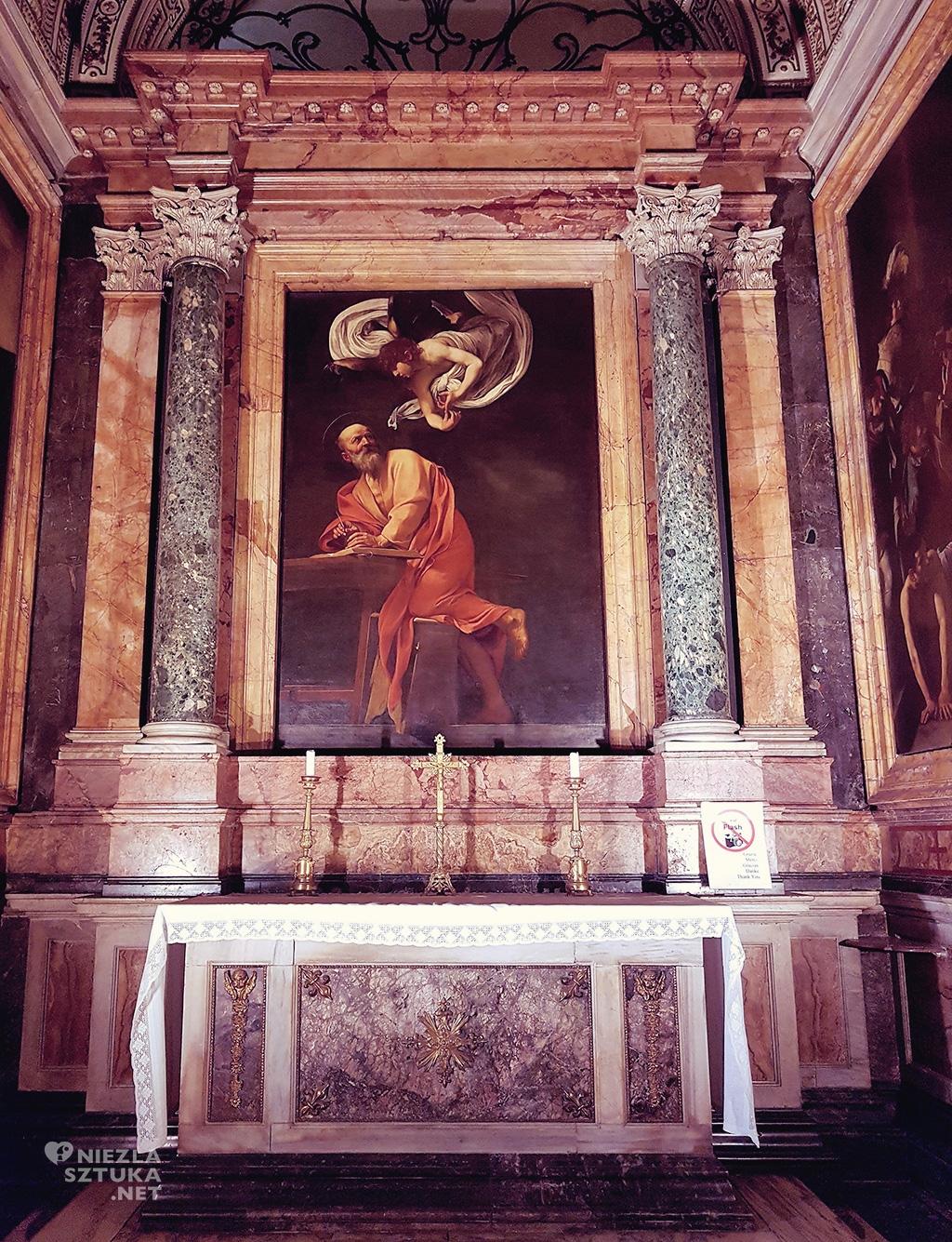 Caravaggio,Rzym, barok, kościół, Niezła Sztuka