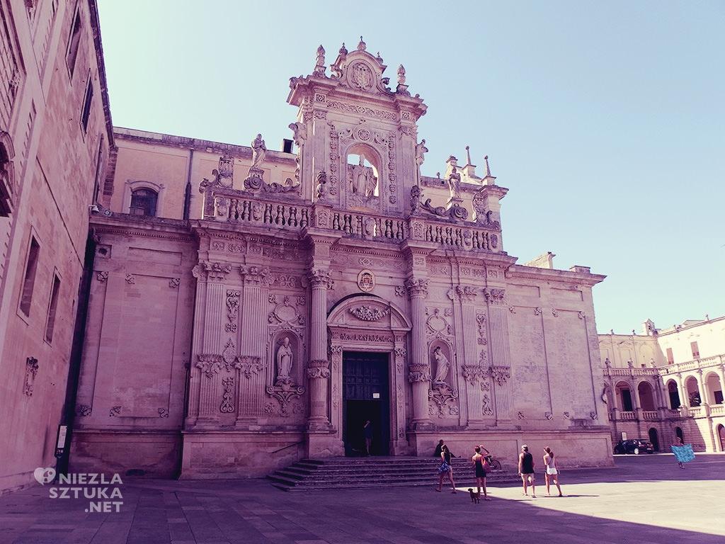 Lecce plac katedralny