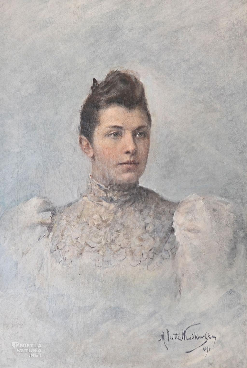 Maria Nostitz-Wasilkowska Portret kobiety