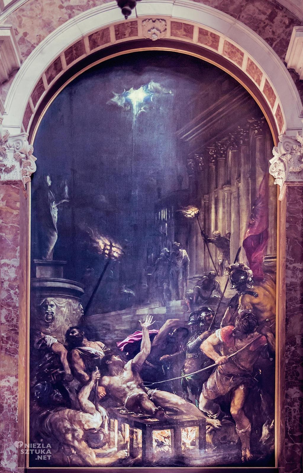 Tycjan Męczeństwo św. Wawrzyńca   między 1548-59, Santa Maria-Assunta, Wenecja, fot. wikipedia.org