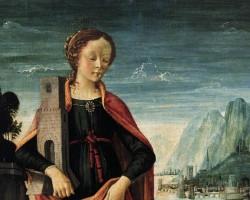 Domenico Ghirlandaio Święta Barbara