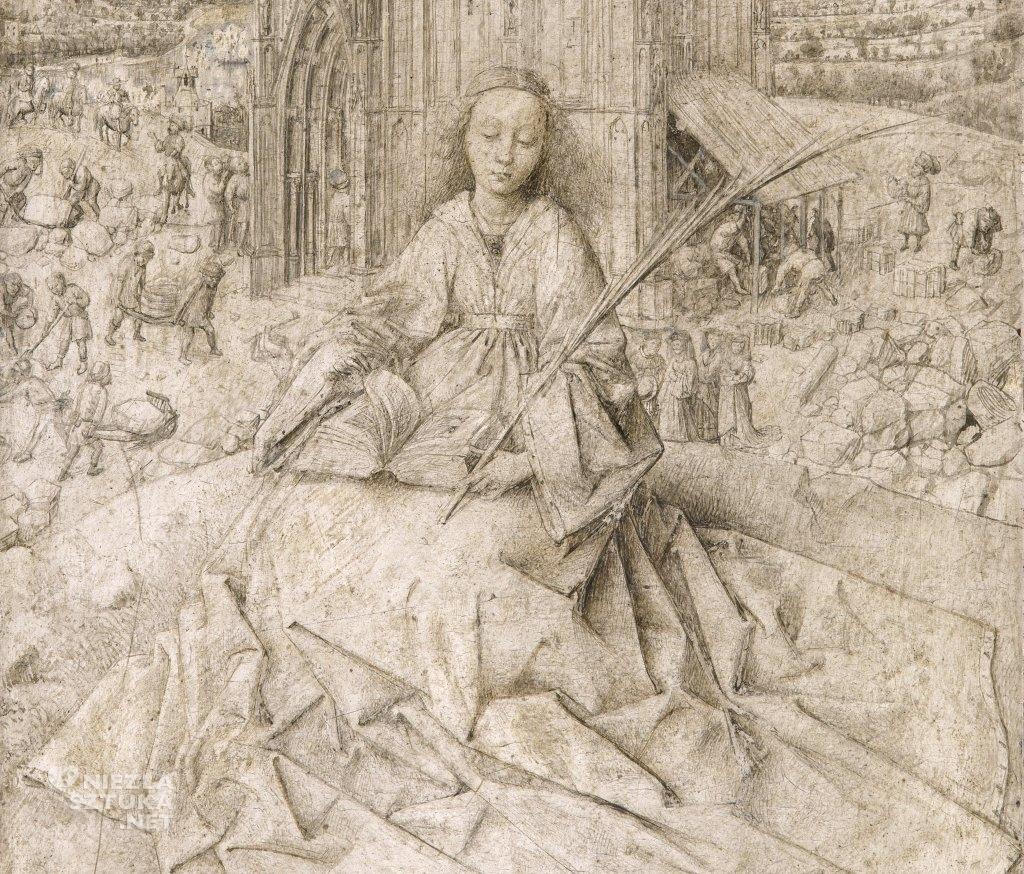 Jan van Eyck Św. Barbara