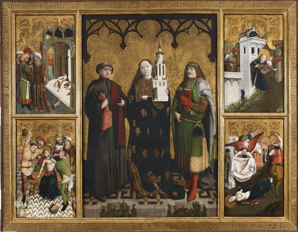 Ołtarz Świętej Barbary