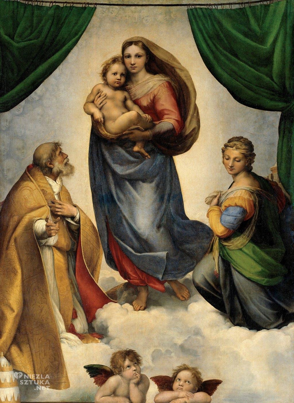 Rafael Santi, Madonna Sykstyńska, sztuka włoska, Niezła sztuka