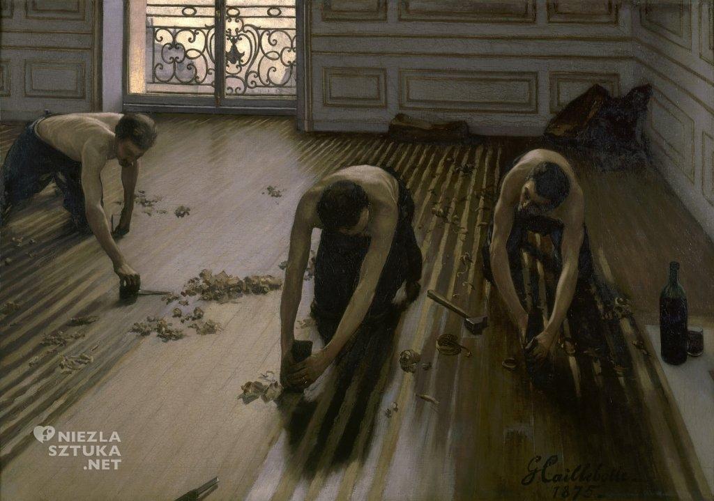 Gustave Caillebotte Cykliniarze