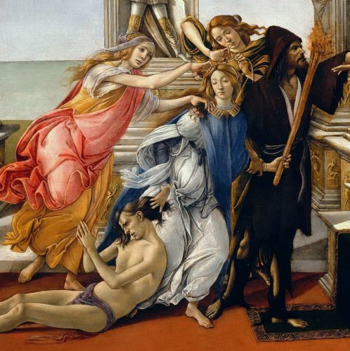 Sandro Botticelli Kalumnia Apellesa, Niezła sztuka