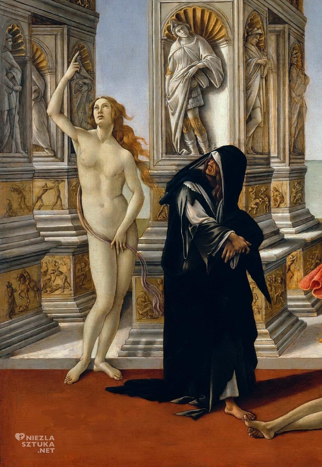 Sandro Botticelli Kalumnia Apellesa