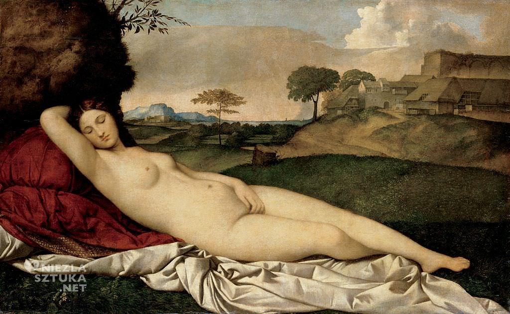 Giorgione, Śpiąca Wenus, akt w malarstwie, Niezła sztuka