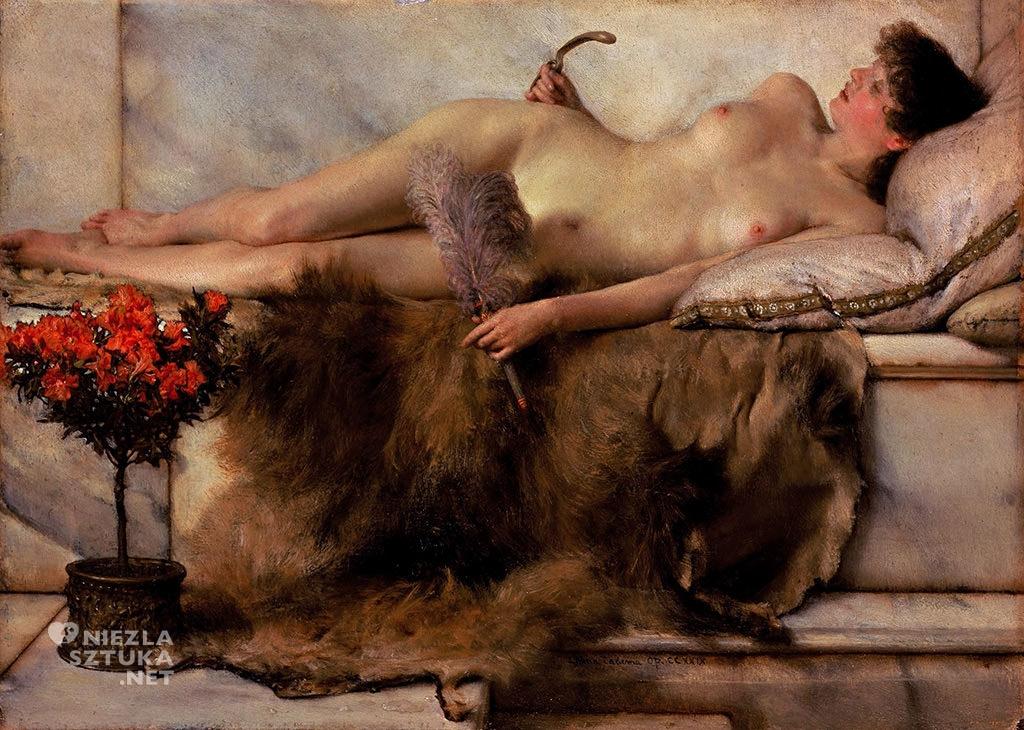 Lawrence Alma-Tadema, Tepidarium |1881, 24.2 × 33 cm, olej na płótnie, Lady Lever Art Gallery
