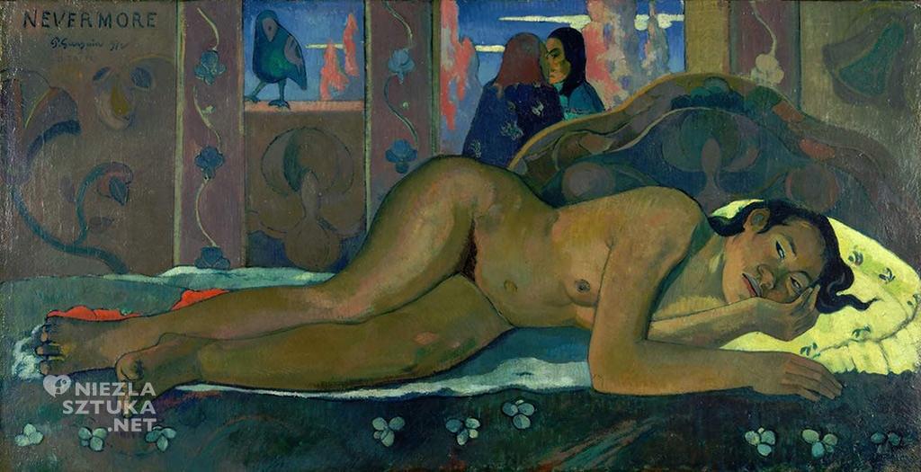 Paul Gauguin, Nevermore, akt, niezła sztuka