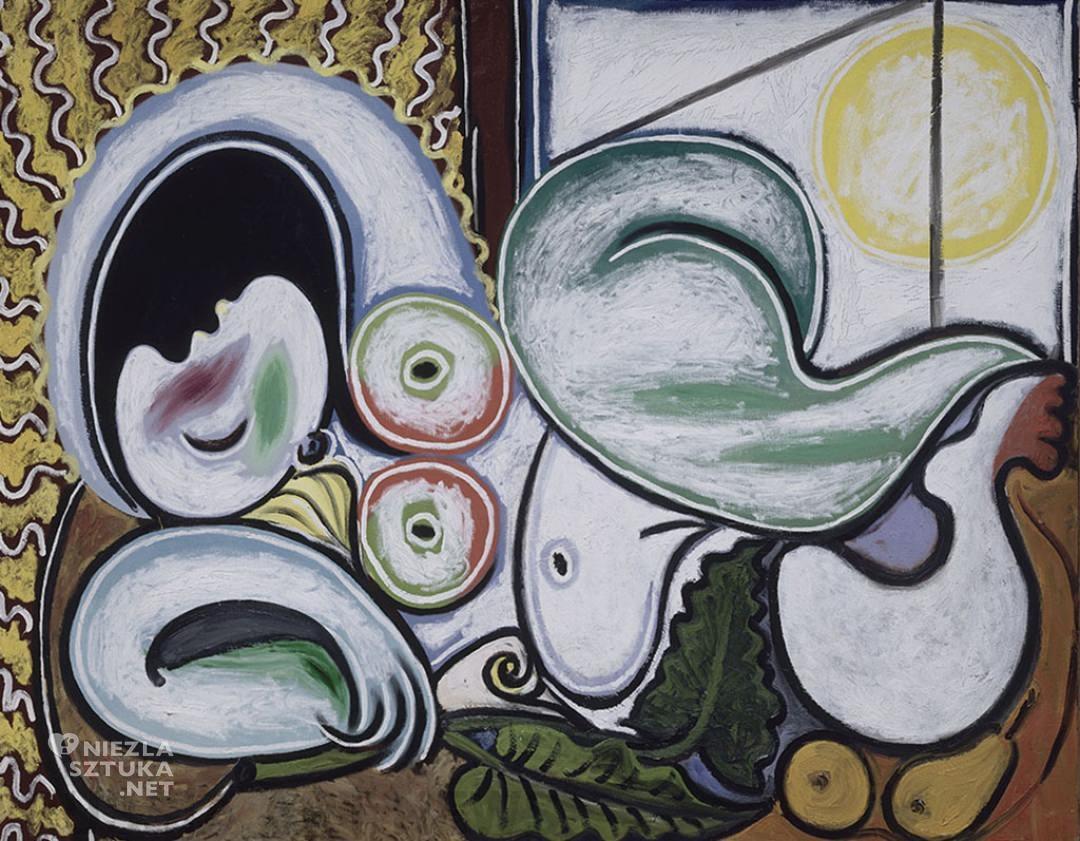 Pablo Picasso, Reclining nude, akt w malarstwie, Niezła Sztuka