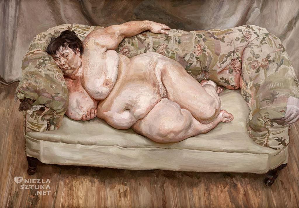 Lucian Freud, Benefits Supervisor Sleeping , 1995