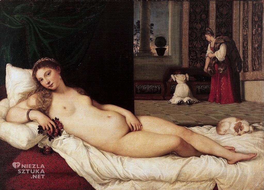 Tycjan, akt w malarstwie