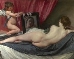 Diego Velázquez, Wenus z lustrem, niezła sztuka