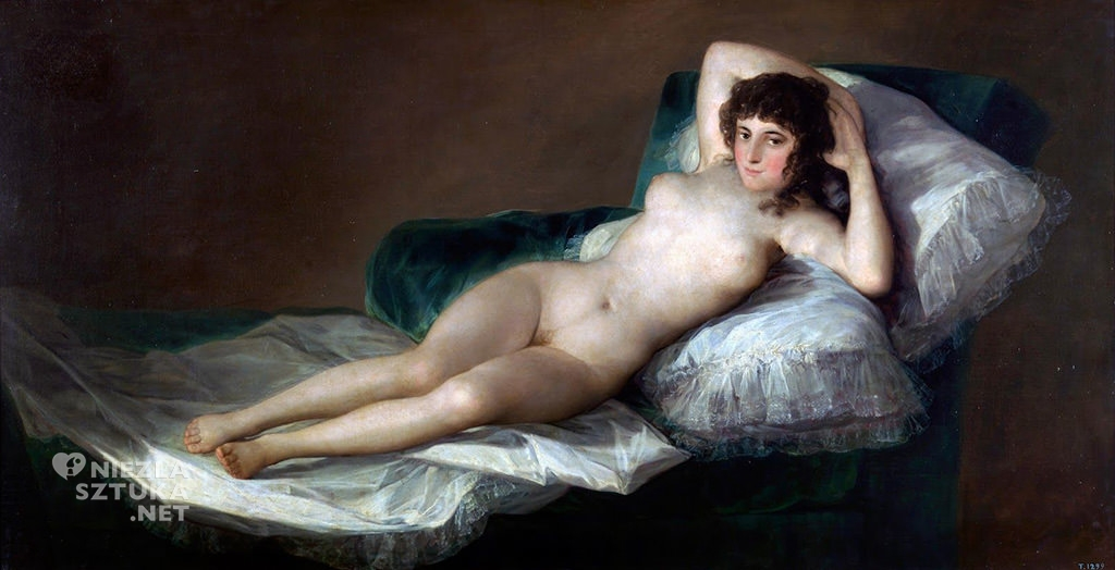 Francisco Goya, Maja naga