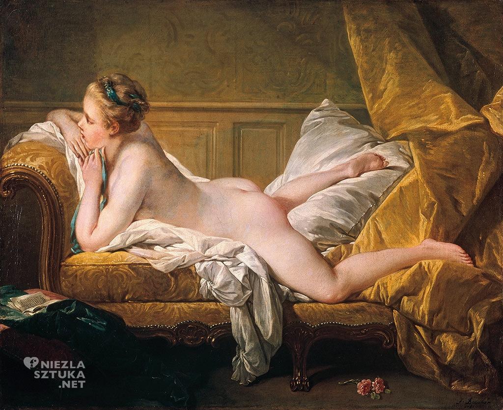 François Boucher, Odpoczywająca dziewczyna