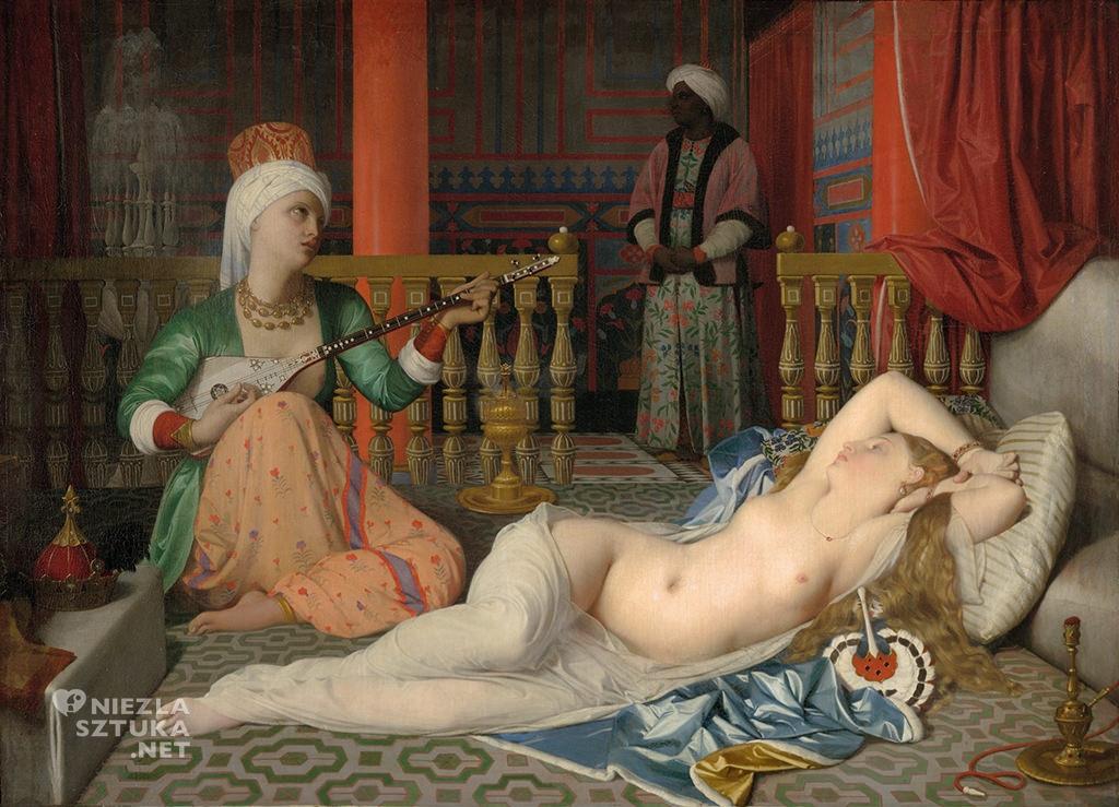 Jean-Auguste-Dominique Ingres. Odaliska z niewolnikiem