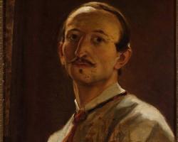 Artur Grottger, Autoportret, sztuka polska, Niezła Sztuka