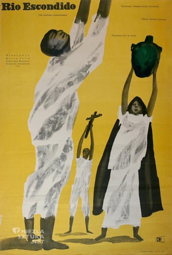 Jan Lenica Rio Escondido, fot. Galeria Plakatu Poster.pl