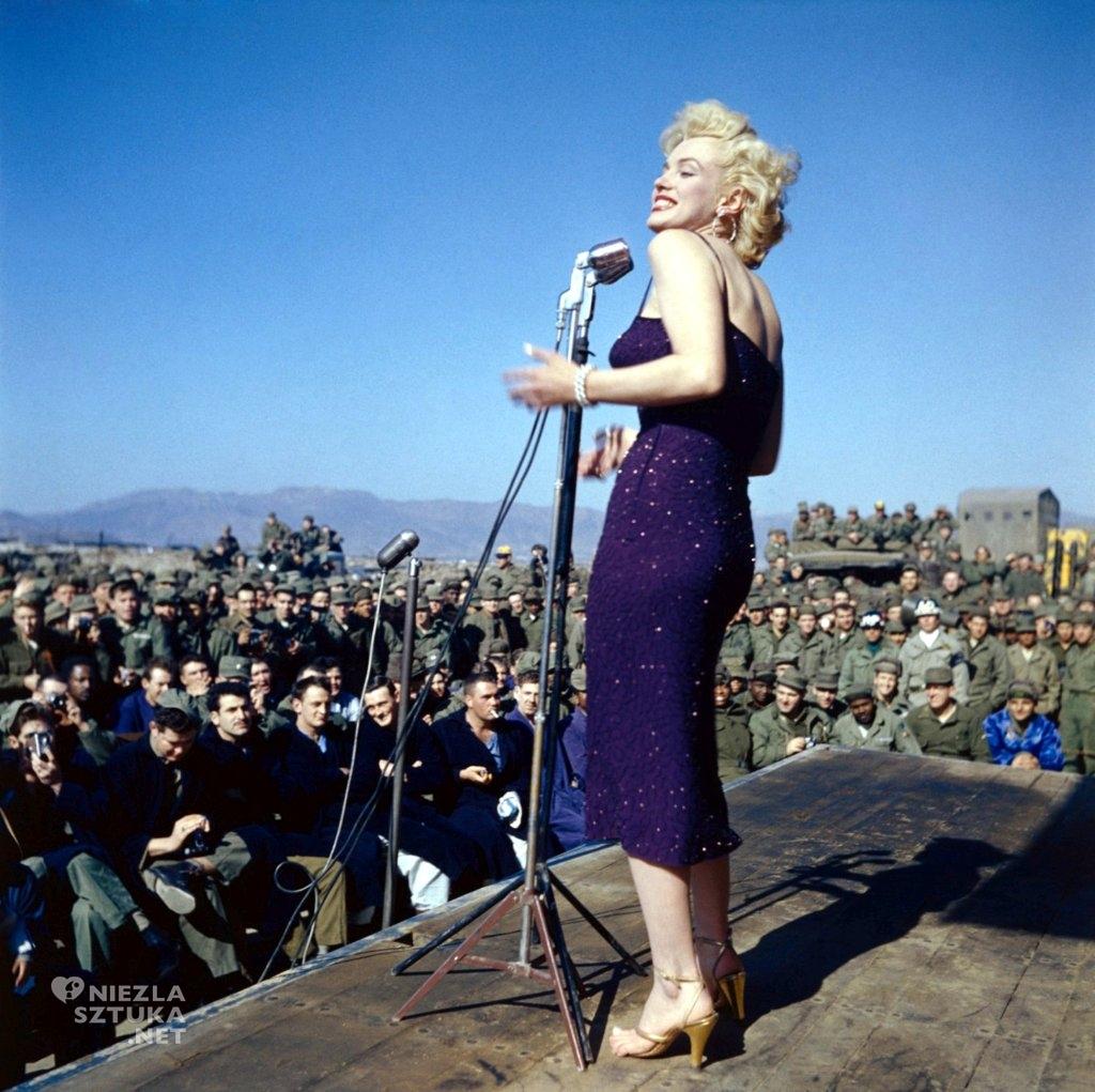 Marilyn Monroe w Korei, źródło: theredlist.com