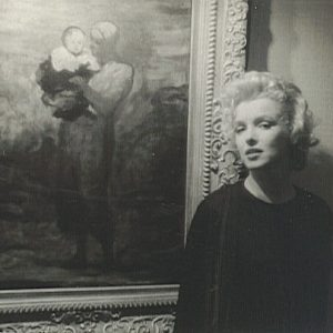 Marilyn Monroe w William Goetz House | 1956, fot. Joshua Logan, źródło: theredlist.com