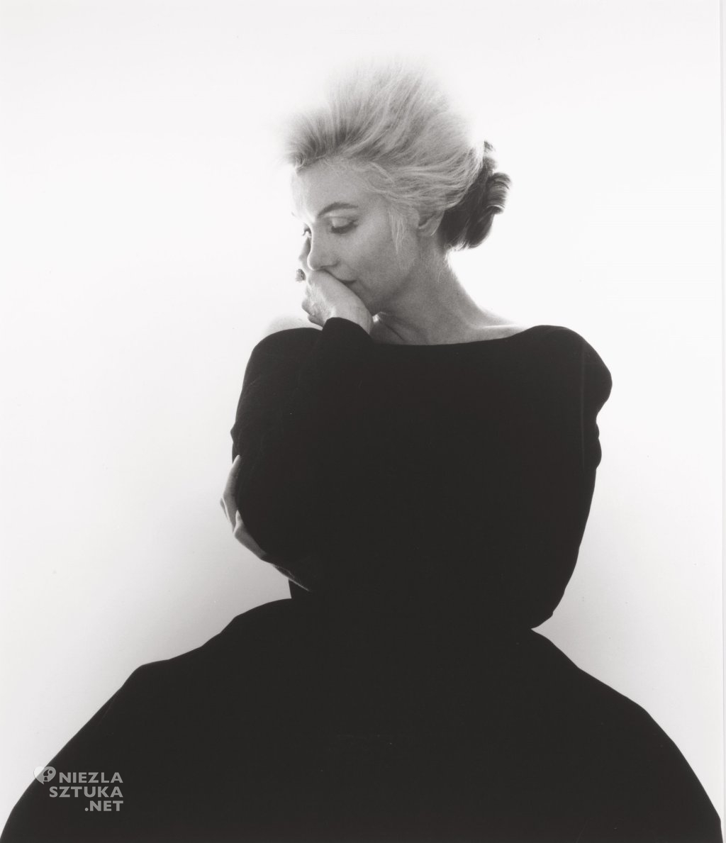 Marilyn Monroe, fot. Bert Stern dla Vogue'a | 1962, źródło: theredlist.com