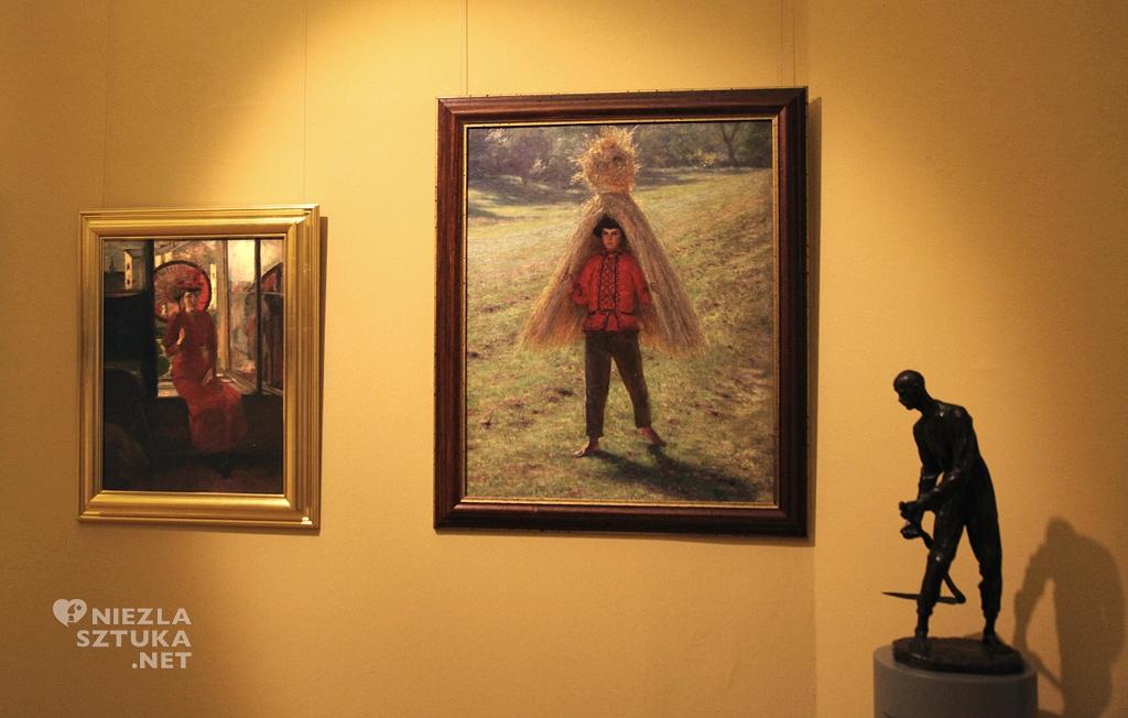 Aleksander Gierymski, Chłopiec niosący snop, Muzeum Narodowe we Wrocławiu, muzeum, Niezła sztuka