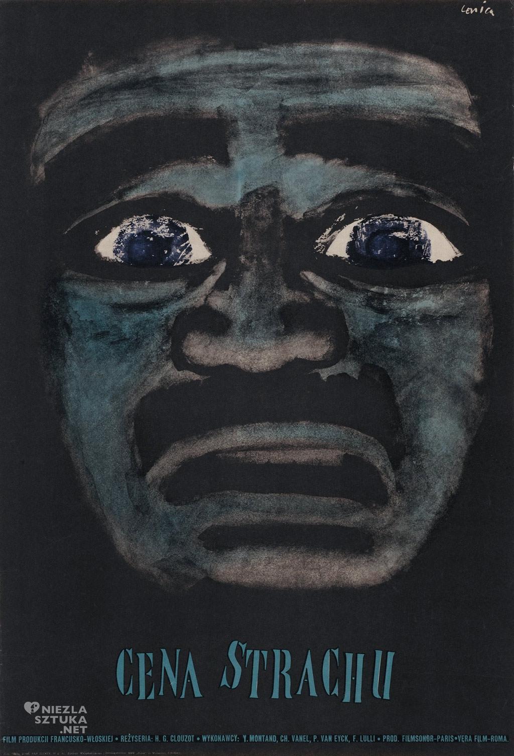 Jan Lenica, cena strachu, plakat, niezła sztuka