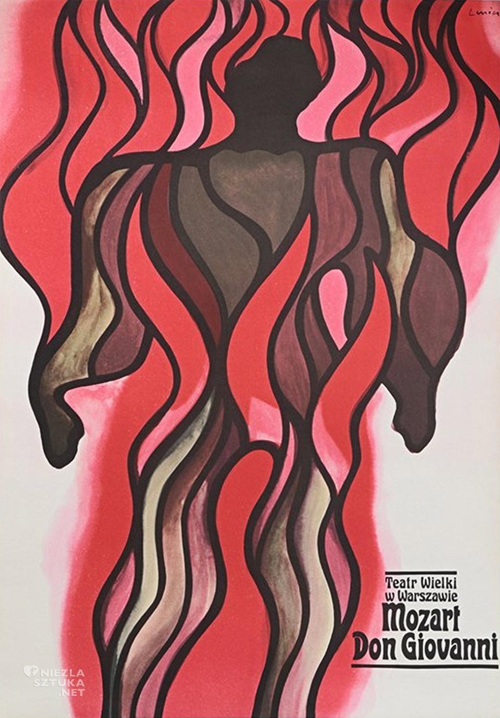 Jan Lenica, Don Giovanni, plakat, niezła sztuka