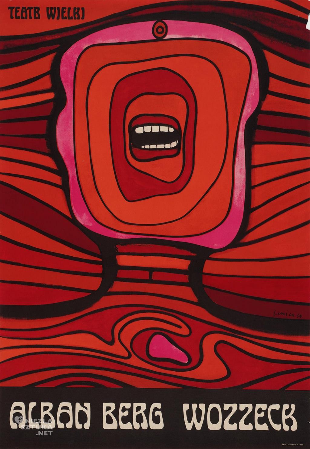 Jan Lenica, <em>Wozzeck</em> fot. Galeria Plakatu Poster.pl