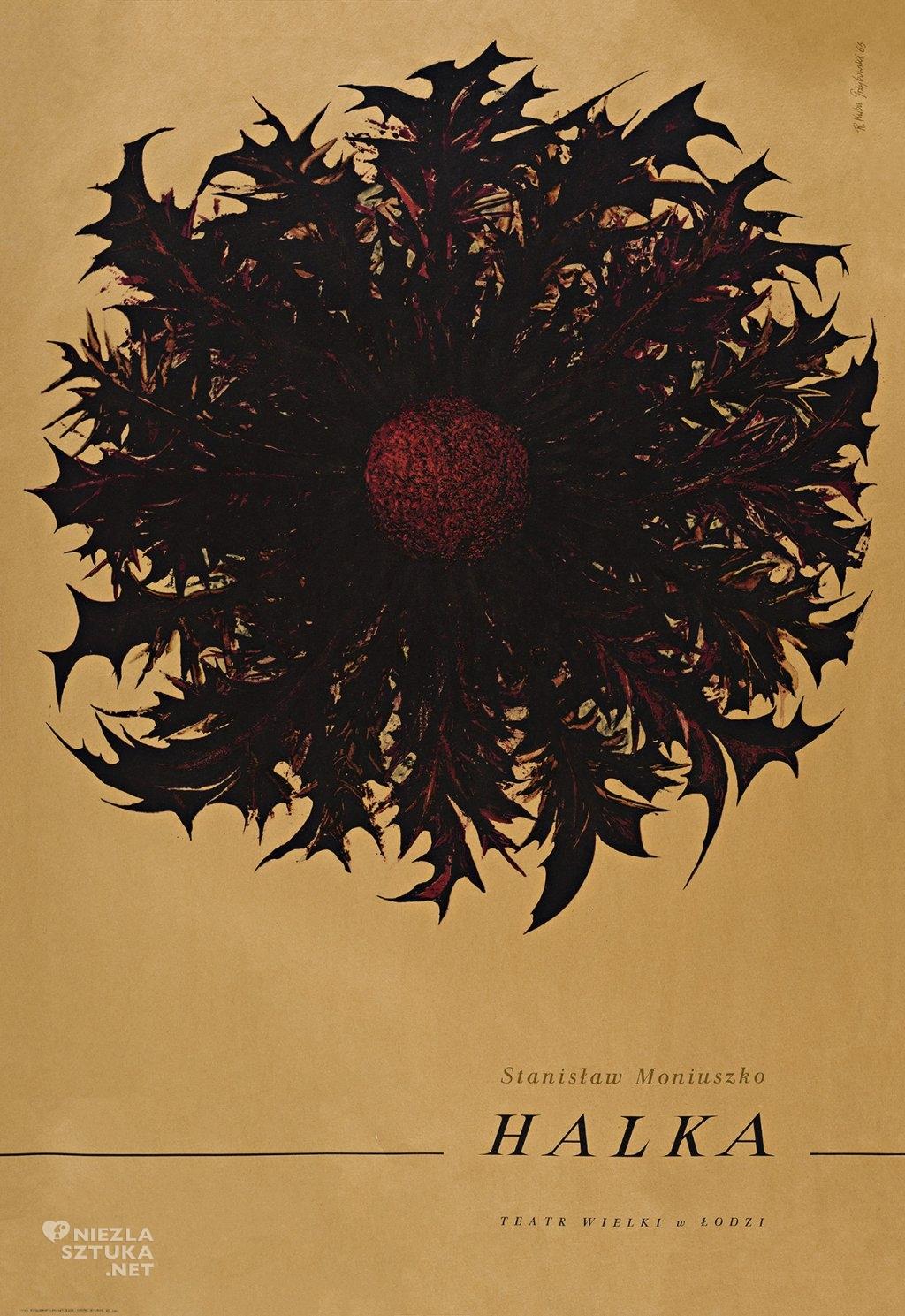 Halka | 1967, offset barwny, papier 98,5x68,5 cm