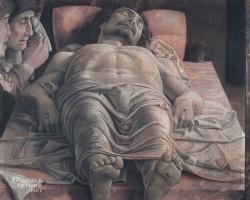Andrea Mantegna Opłakiwanie zmarłego Chrystusa, Niezła sztuka
