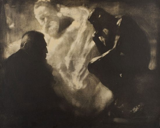 Edward Steichen, Rodin Myśliciel, 1902, Alfred Stieglitz Collection 1948, 825, The Estate of Edward Steichen (Artist Rights Society), New York