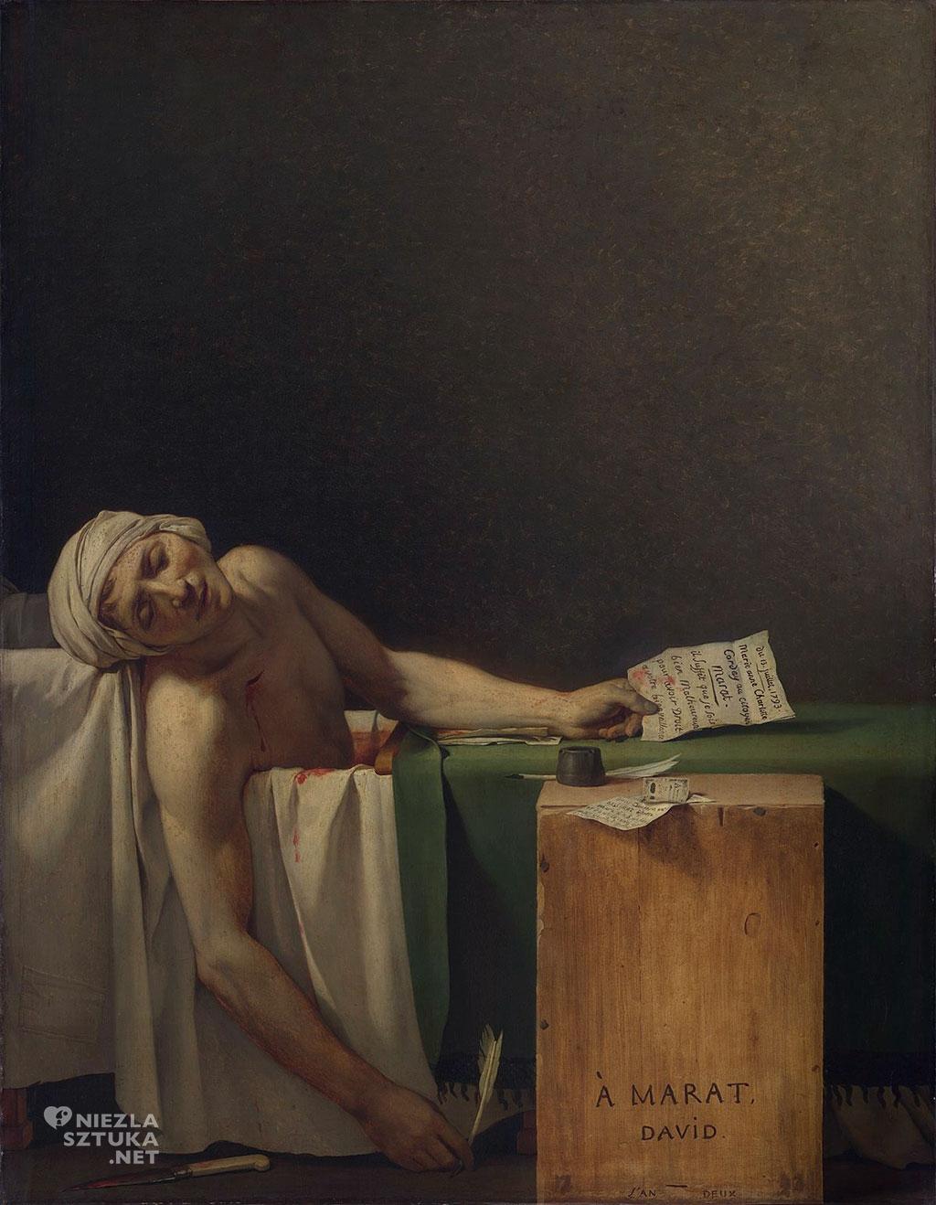 Jacques Louis David Śmierć Marata
