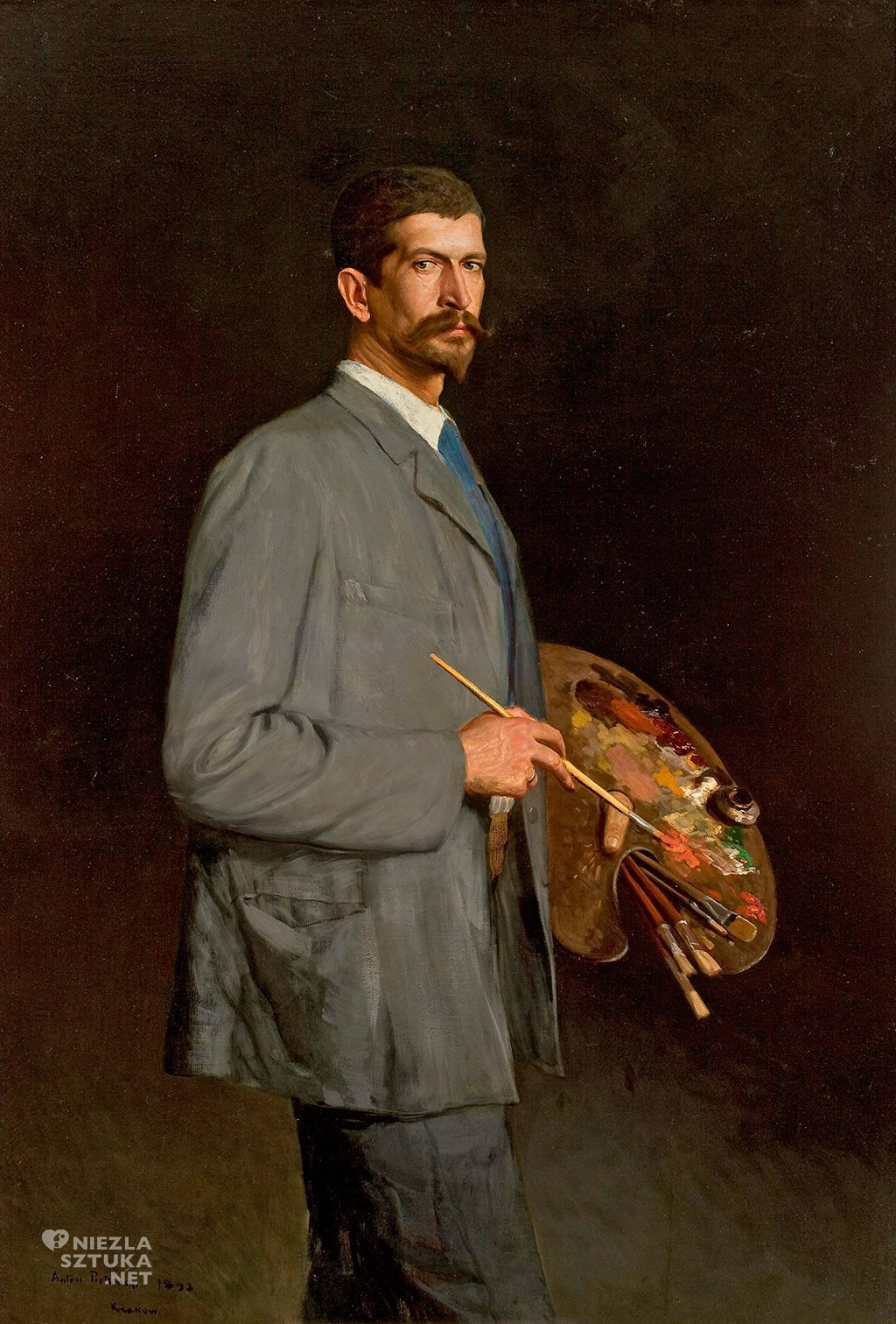 Antoni Piotrowski Autoportret