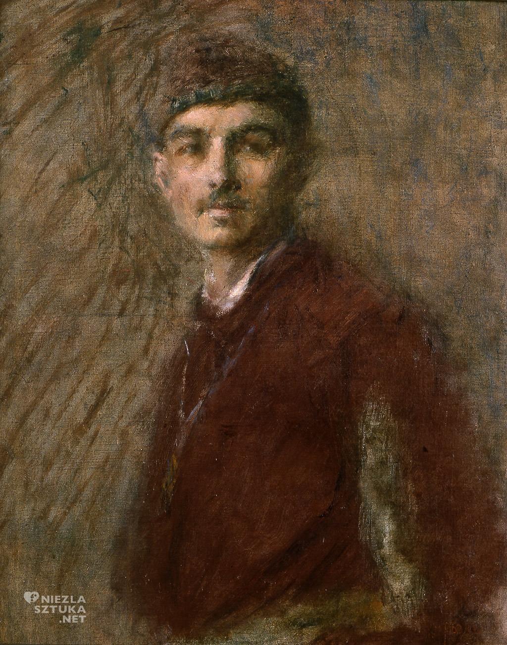 Władysław Podkowiński, Autoportret, Niezła Sztuka