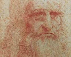 Leonardo da Vinci Autoportret, Niezła sztuka