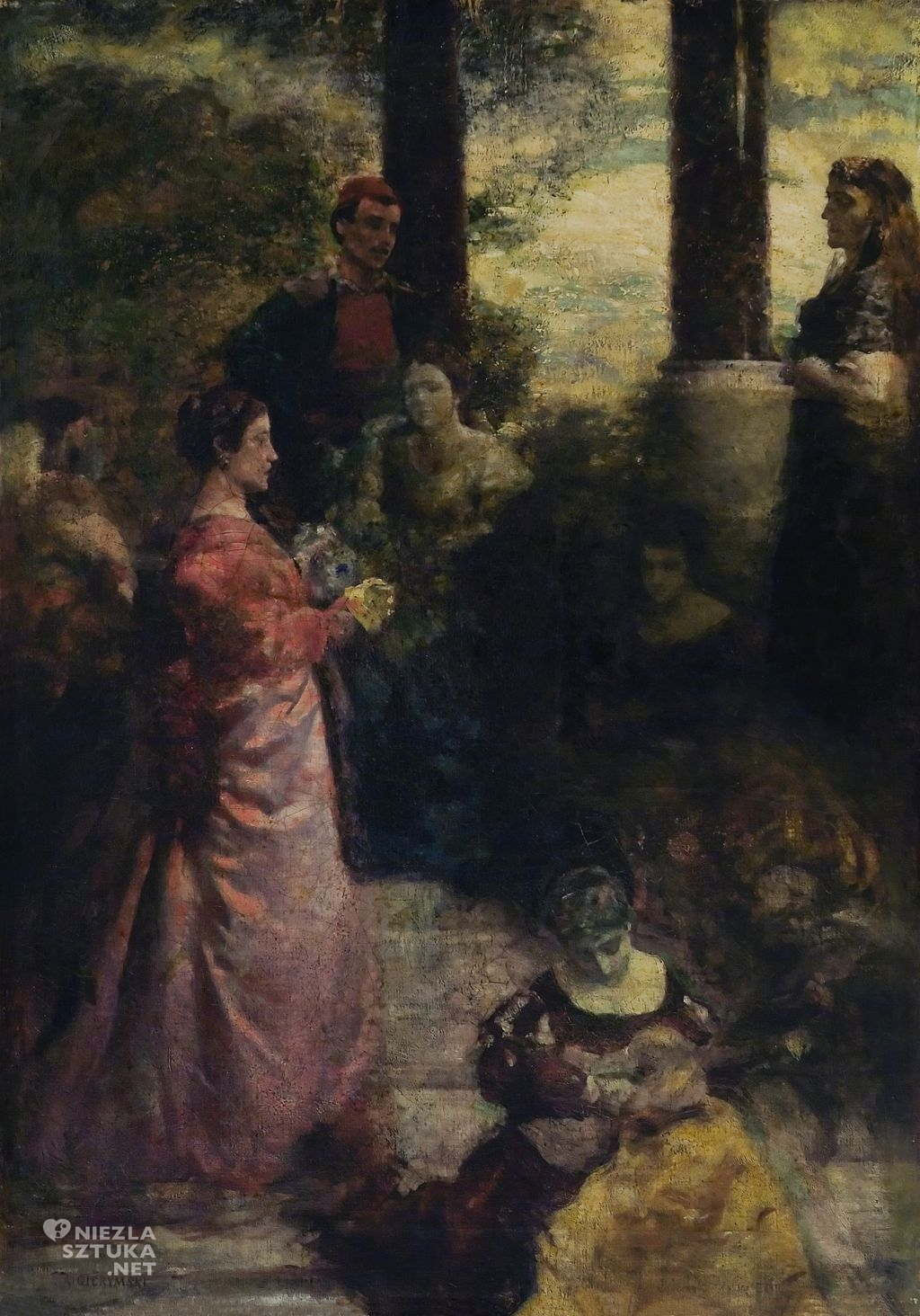 Aleksander Gierymski, Sjesta włoska I
