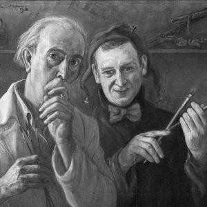 Wlastimil Hofman Faust i Mefisto | 1952