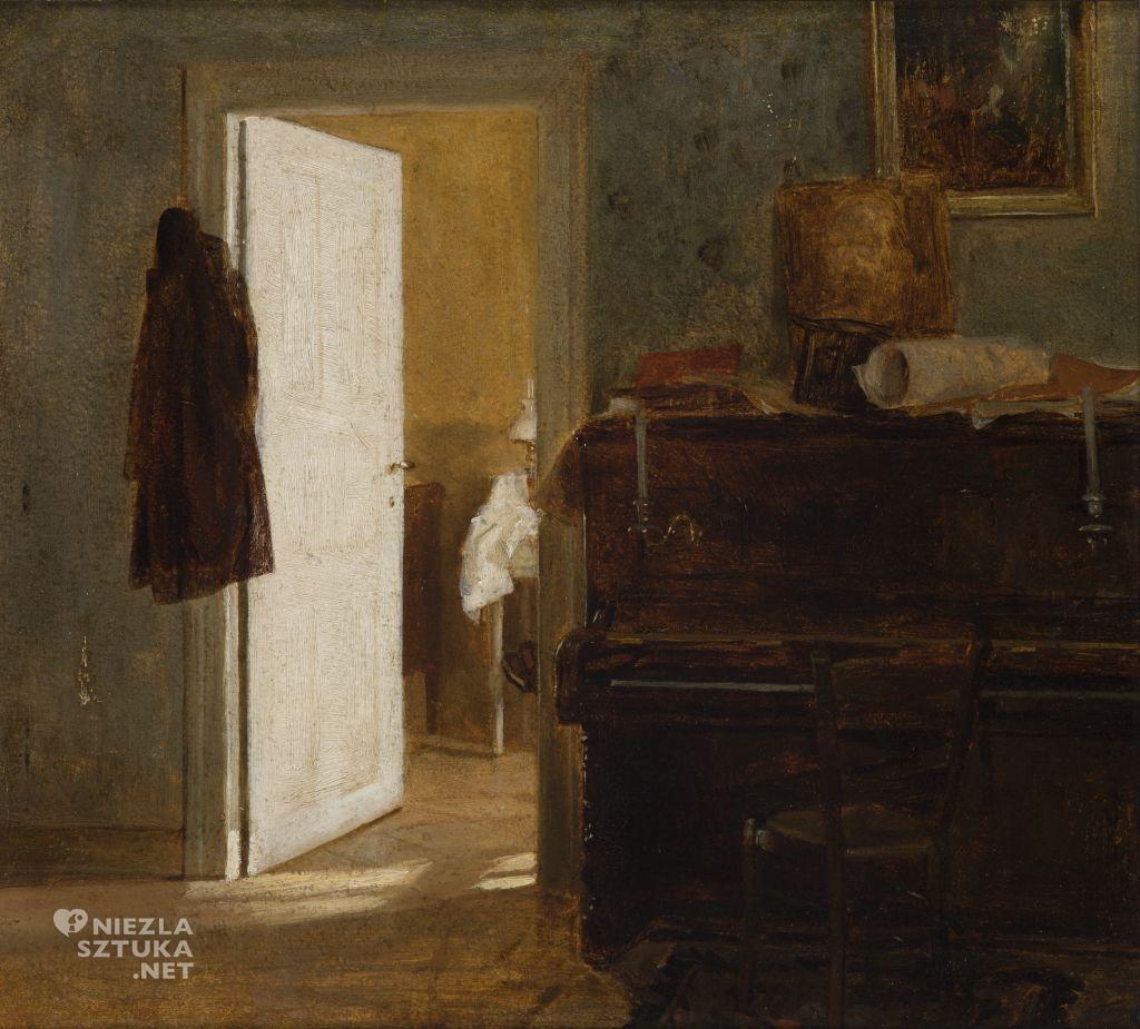 Aleksander Gierymski, Wnętrze mieszkania Gierymskich w Monachium, Sztuka Polska, Niezła Sztuka