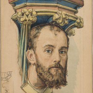 Jan Matejko karton do polichromii kościół Mariacki
