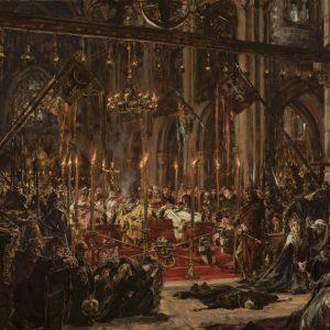 Jan Matejko, Klęska Legnicka, malarstwo historyczne, sztuka polska, malarstwo polskie, Niezła sztuka