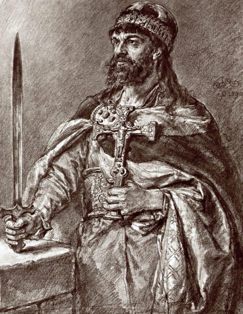 Jan Matejko, Mieszko I, poczet królów, sztuka polska, malarstwo polskie, Niezła sztuka
