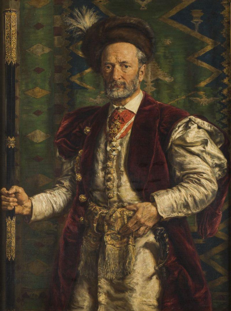 Jan Matejko, Portret Mikołaja Zyblikiewicza, sztuka polska, malarstwo polskie, Niezła sztuka