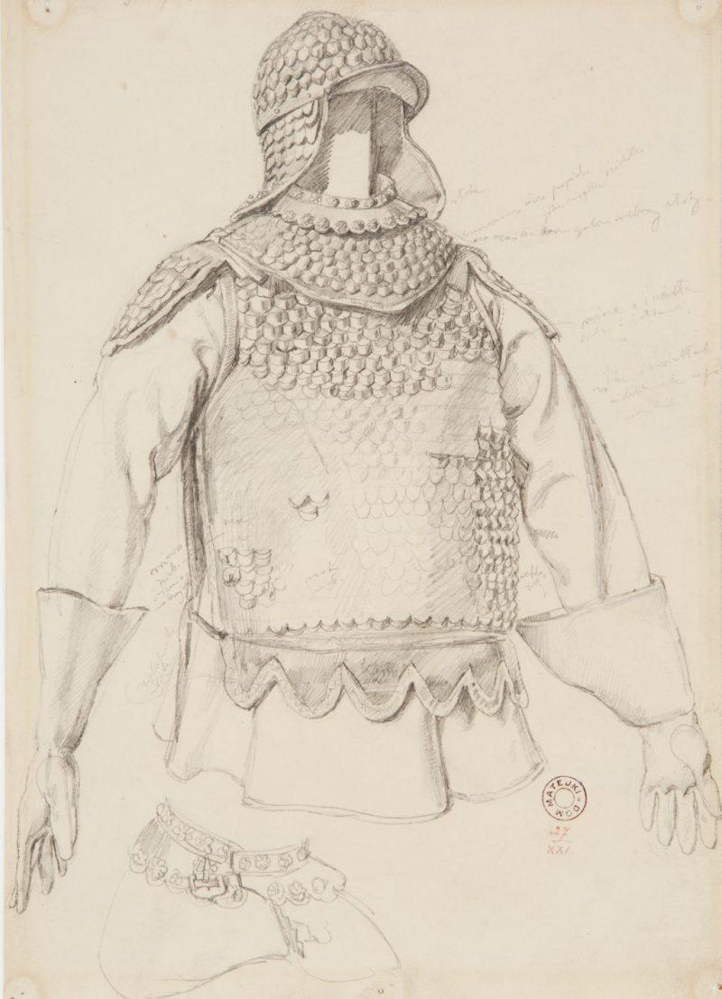 Jan Matejko, szkic, Niezła sztuka