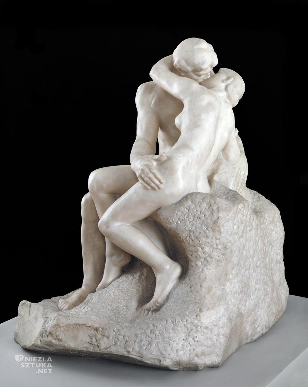 Auguste Rodin, Pocałunek, 1901-1904, źródło: .tate.org.uk