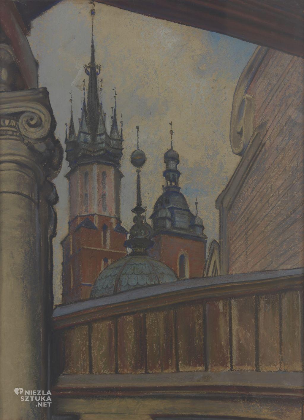 Stanisław Wyspiański Kościół Panny Maryi | 1905, Muzeum Narodowe w Krakowie